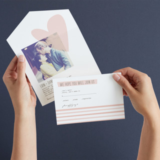 Simply Love All-in-One Wedding Invitations