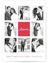 Joie Grid Wedding Announcements