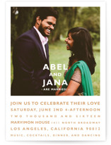 Desenfadado Wedding Announcements