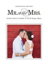 Same Last Name Wedding Announcements