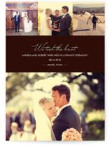 Chic Wedding Announcements