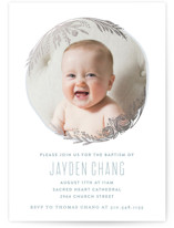 Perfect Bundle Foil-Pressed Baptism and Christening Invitations