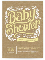 Show Poster Baby Shower Postcards