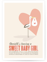 Sweet Delivery Baby Shower Postcards
