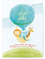 Cloud Nine Baby Shower Postcards