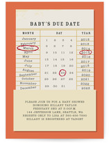 Baby's Due Date by Serenity Avenue