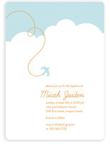 heavenly bird Baptism & Christening Announcements