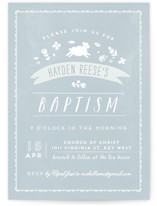 Little Lamb Baptism & Christening Announcements