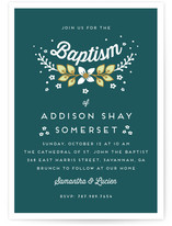 Yeweled Baptism & Christening Announcements