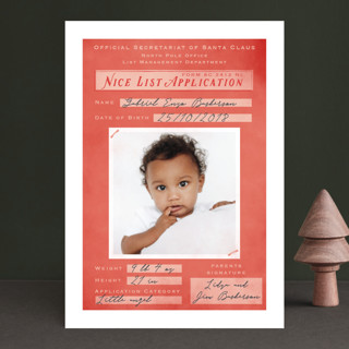 Application Pending Holiday Birth Announcements