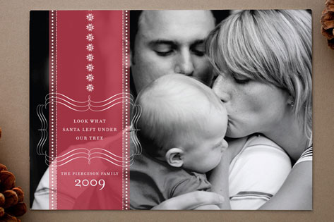 Sweet Memories Holiday Birth Announcements
