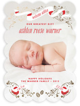 An Angel is Born Foil-Pressed Birth Announcements