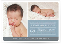 From Your Nose to Your Toes Birth Annoucement Postcards