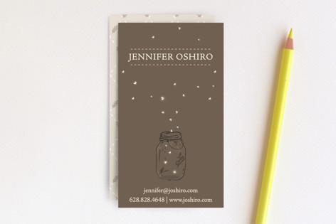 Fireflies Business Cards