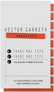 Structured Business Cards