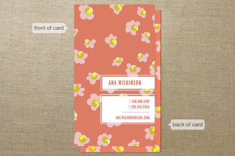 Floral Fiesta Business Cards