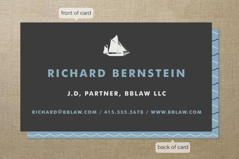 Captain Business Cards