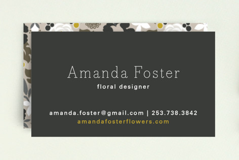 Clean Cut Florals Business Cards