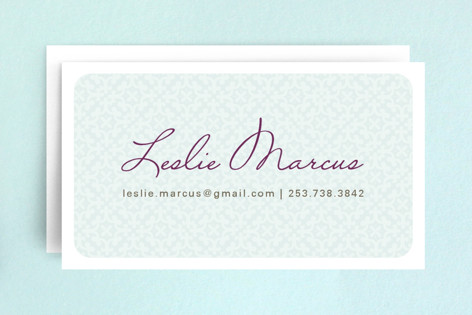 Hello Patterns Business Cards by Alethea and Ruth
