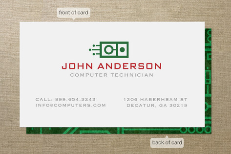Circuit Board Business Cards