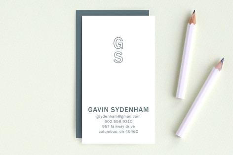 Clean and Classy Business Cards