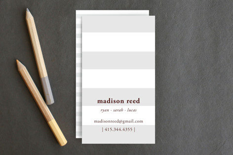Real Simple Business Cards by SimpleTe Design