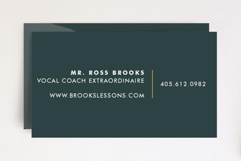 Virtuoso Business Cards