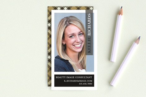 Vogue Beauty Business Cards