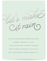 Let's Make it Rain