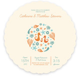 Sweet Seahorses Baby Shower Invitations