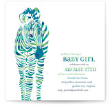 Baby Z Baby Shower Invitations