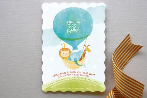 Cloud Nine Baby Shower Invitations
