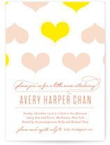 Heartwarming Baby Shower Invitations