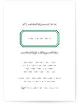 Ex Libris Baby Shower Invitations