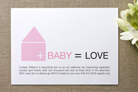 Home Baby Shower Invitations