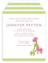 Cuddle Baby Shower Invitations