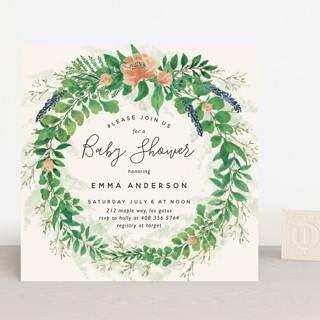 Garden Shower Baby Shower Invitations
