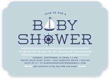 Ahoy Baby Shower Invitations
