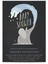 Happy Elephant Baby Shower Invitations