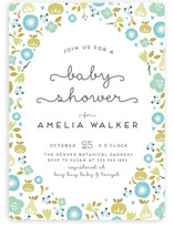 Orchard Frame Baby Shower Invitations