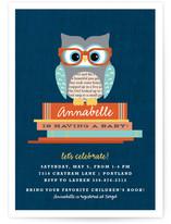 Bookworm Owl