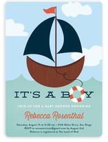 Ahoy, Boy! Baby Shower Invitations