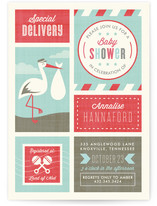 Oh So Special Delivery Baby Shower Invitations
