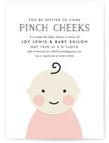 Cheeky Baby Shower Invitations