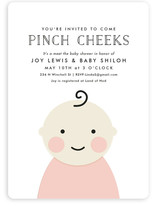 Cheeky Baby Shower Invitations