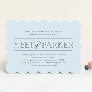 Meet + Greet Baby Shower Invitations
