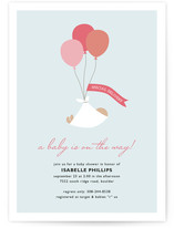 Special Delivery Baby Shower Invitations
