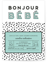 Petite Tache Baby Shower Invitations