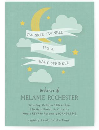 Twinkle Sprinkle Baby Shower Invitations