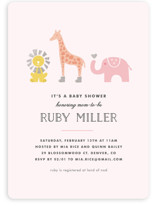 Safari Soiree Baby Shower Invitations